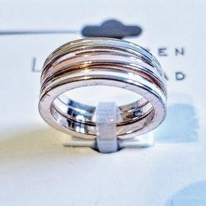 Pastel Enamel Rings